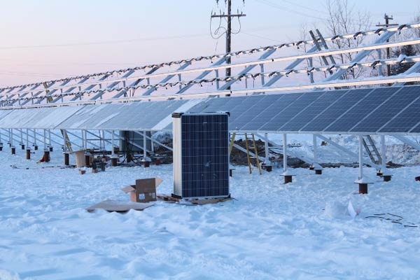 Fort Simpson solar materials