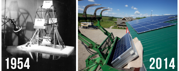 Happy Birthday To The First Practical Solar Cell