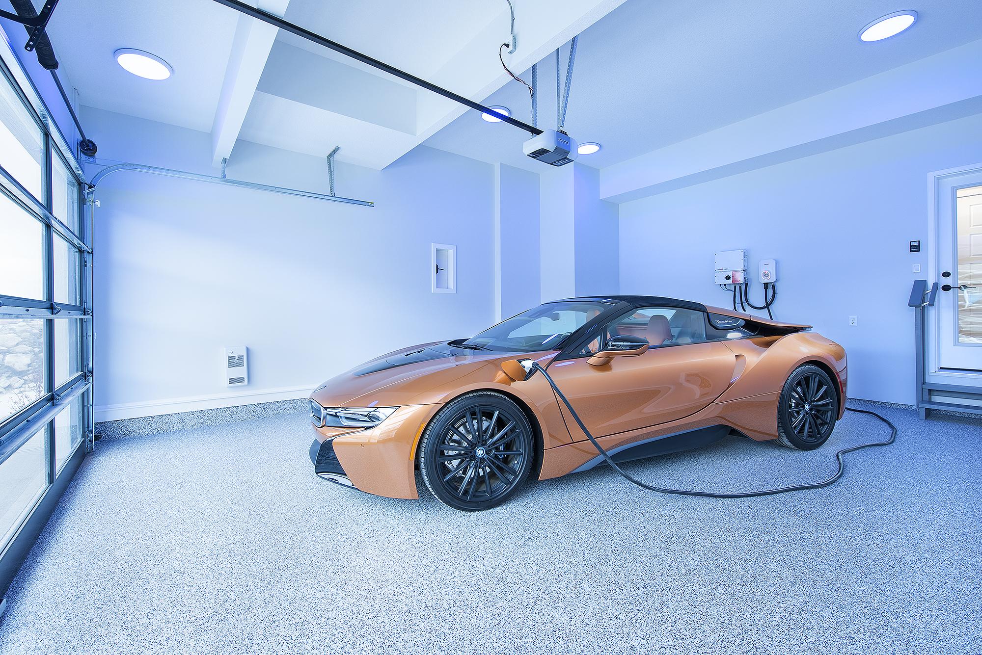 Net Zero home electric vehicle charging