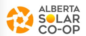Alberta, Solar, Co-op, Co-operative, Community Solar, Solar Energy, Clean Energy, Renewable Energy
